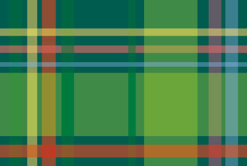 Plaid green wallpaper