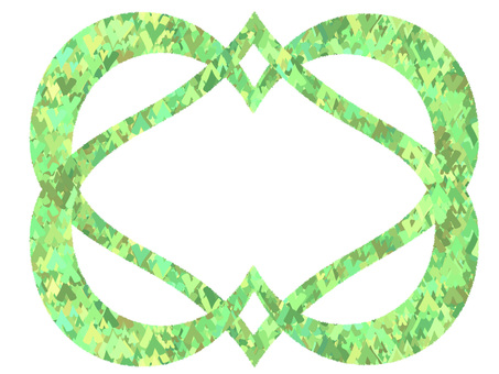 Heart's plate (green)