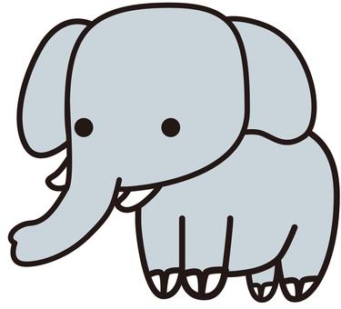 象(ぞう)エレファント