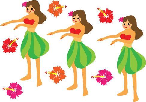 Hawaii Hula Dance
