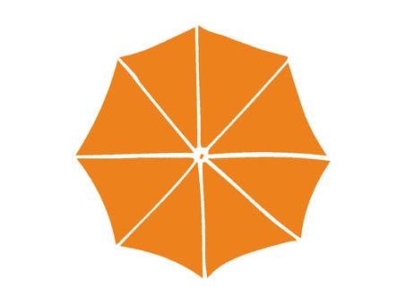 Umbrella-orange