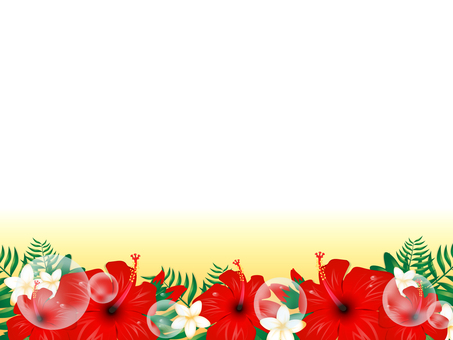 Hibiscus background 2
