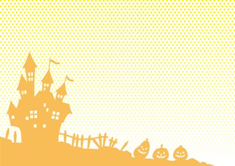 ハロウィン背景壁紙01