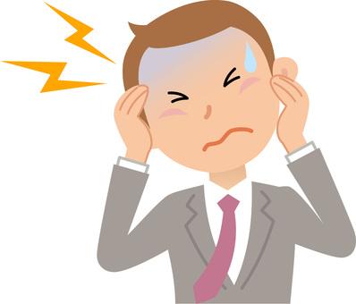 70919. Illness 6, Male, Headache