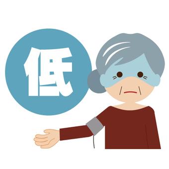 Images of low blood pressure (grandma)