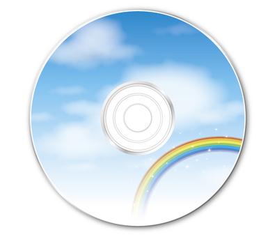 DVD (sky and rainbow)