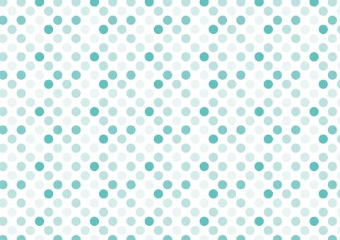 Seamless dots background chocolate mint