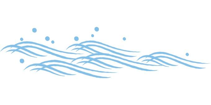 Wave d thin blue _cs