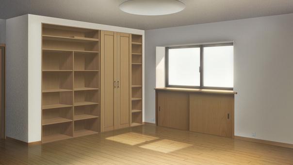 Empty room (morning)