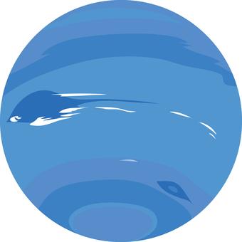 Neptune Neptune planetary star object