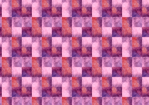 Block pattern of watercolor that can be used in irritation