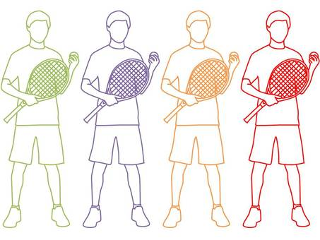 Men who play tennis 2