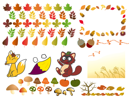 Various images of autumn