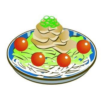 Cold shabu salad