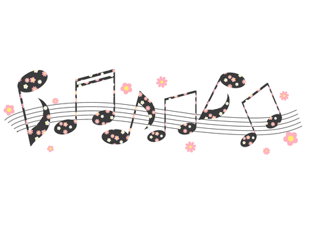 꽃 무늬 노트 02