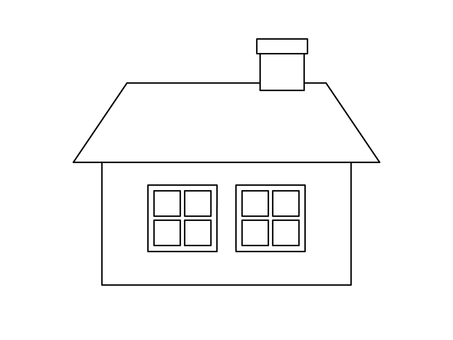 House (line drawing)