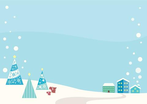 Winter landscape illustration (3)