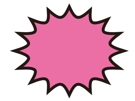 American-style wind callout (pink)