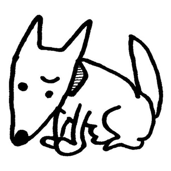 Troubled dog