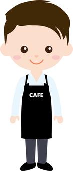人職業製服(男)咖啡館職員