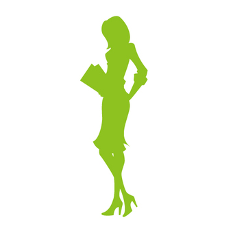 Female model silhouette 6
