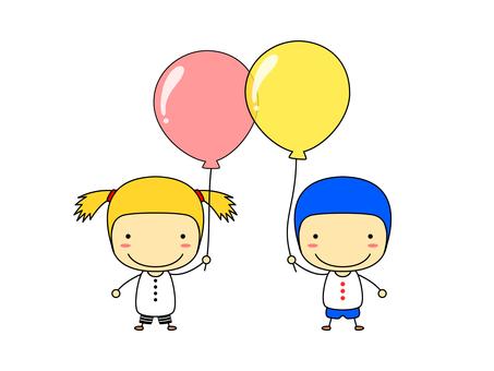 People - balloons 1