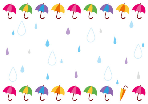 Frame rain