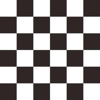 격자 무늬 흑백 1
