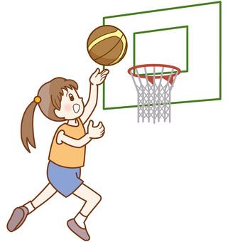 バスケ少女ラインE