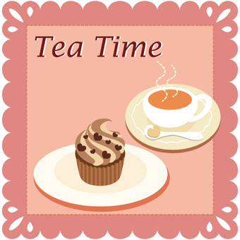 Tea time (tea and cupcakes)