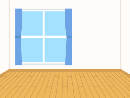Simple house flooring room background