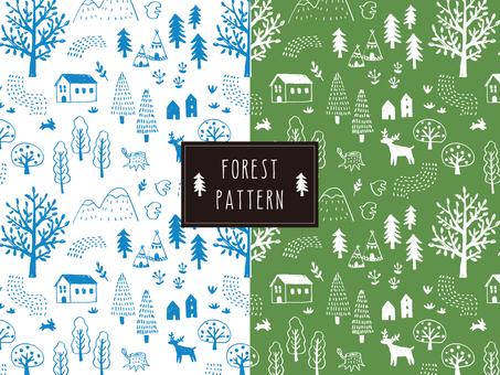 森のパターン