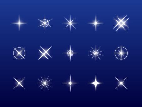 Set of sparkling