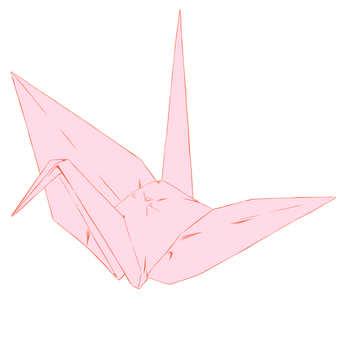 Origami, crane
