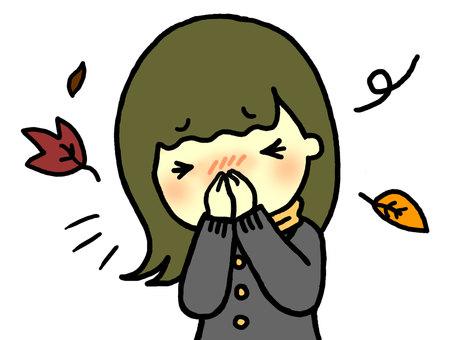 Sneezing (female)