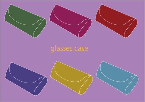 Glasses case set