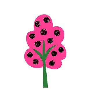 Scandinavian trees (pink)