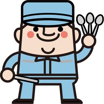 Uncle Fairy Spoon Craftsman