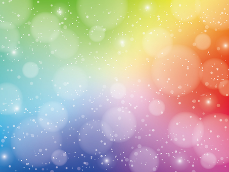무지개 빛깔의 반짝이 배경