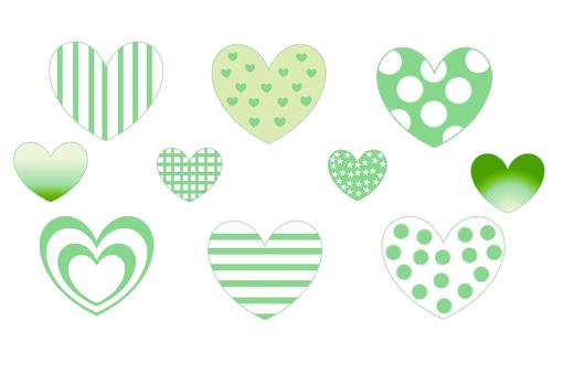 材料·心(綠色)