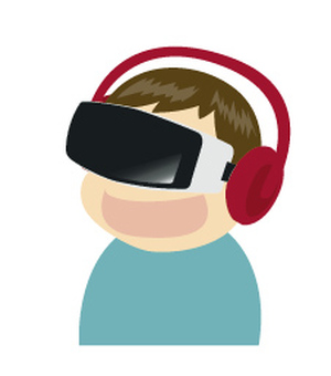 VR boy to experience