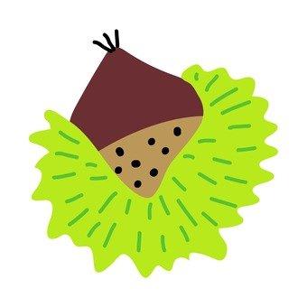 Scandinavian style fruit (chestnut)