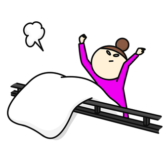 Drying the futon