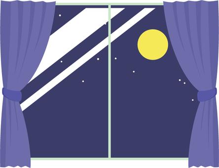 Curtain _ night
