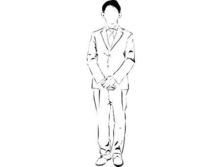 Cut suit male 2