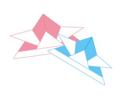 Origami headpiece