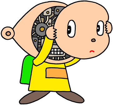 Robot character · Maintenance