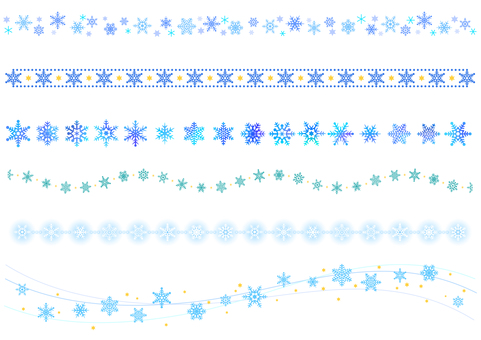 【Ai, png, jpeg】 Winter Material 24