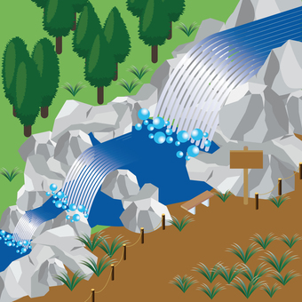 Waterfall_Oirase Stream 1
