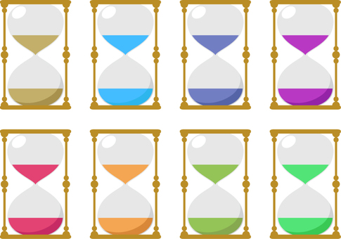 Hourglass _ 8 colors
